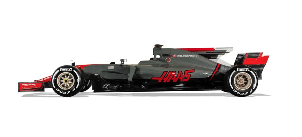 Præsentation af Haas nye Formel 1 racer 2017