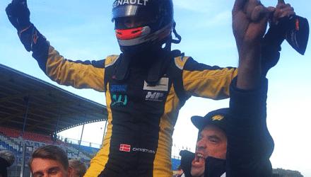 Christian Lundgaard fejrede mesterskab med endnu en sejr