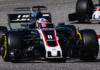 Romain Grosjean blev sat på plads af sin egen mekaniker under USA formel 1 grandprix