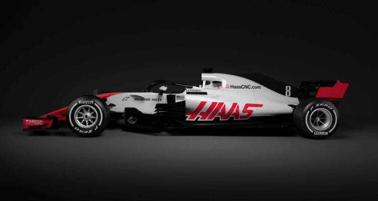 Haas og Kevin Magnussen præsenterer ny Formel 1 racer 2018