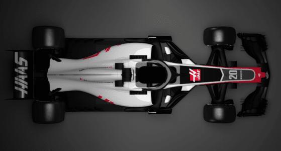Haas præsenterer sin nye formel 1 racer 2018