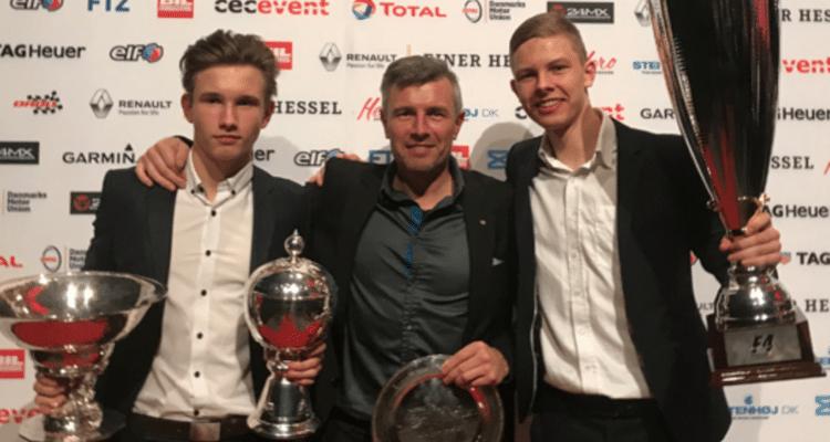Christian Lundgaard, Daniel Lundgaard og Henrik Lundgaard