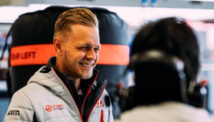 Kevin Magnussen og Haas ved årets formel 1 vintertest 2018