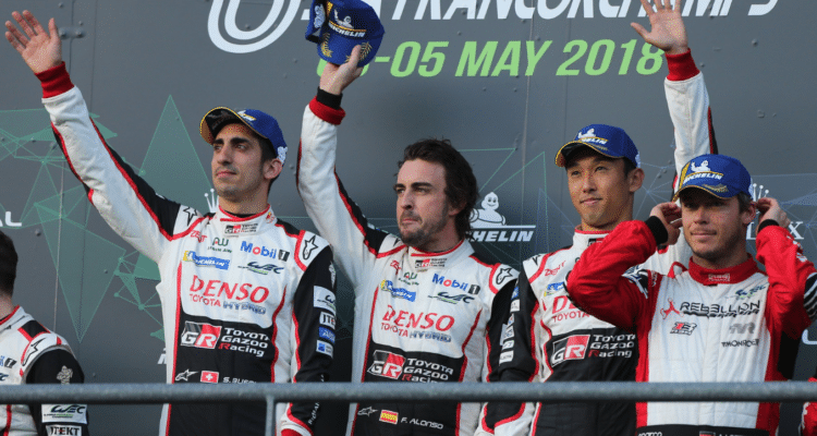 Fernando Alonso vinder igen
