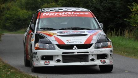 Tim Svanholt/Carina Møller er af de mandskaber, som starter deres titelforsvar ved ADAC Wikinger Rallye.