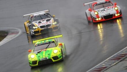 VLN Langstreckenmeisterschaft Nuerburgring 2019, 61. ADAC ACAS H&R-Cup (2019-04-27): #911 - Michael Christensen, Kevin Estre (Porsche 911 GT3 R) - SP9 Pro. Foto: Jan Brucke/VLN