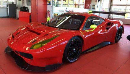 Vicious Rumour Racing Ferrari 488 GT3 preseason - Foto: Benny Simonsen