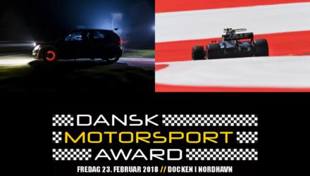 Årets Motorsportsfotograf kåres til Dansk Motorsport Award 2018