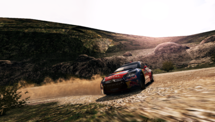 WRC 3 the Game screenshot - Citroën DS3 WRC Rally Italia - Sardegna