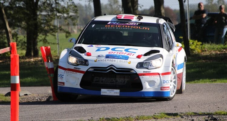 Det blev Esben Hegelund og Mie Johansen, der tog den samlede sejr i John Frederiksen – Brøndby Rally Roskilde 2019 – femte afdeling af Autoplus Dansk Super Rally.