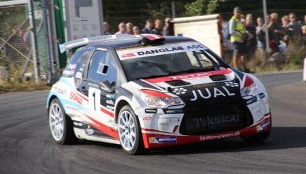 Ib Kragh og Freddy Pedersen sikrer sig Autoplus Dansk Super Rally 2018