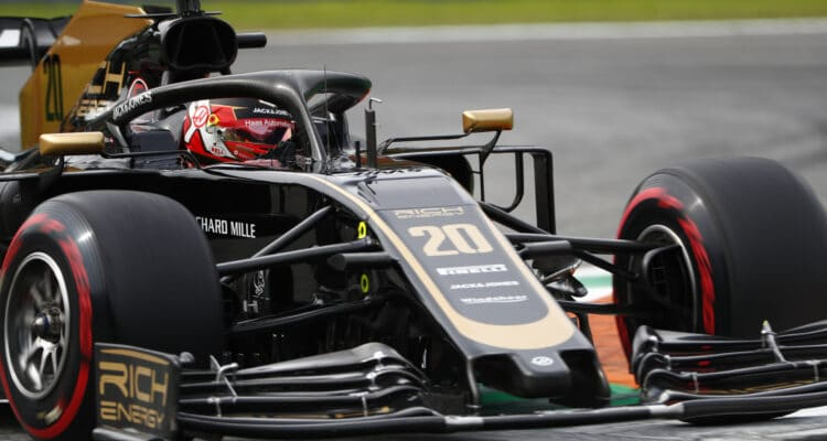 Kevin Magnussen på Monza 2019
