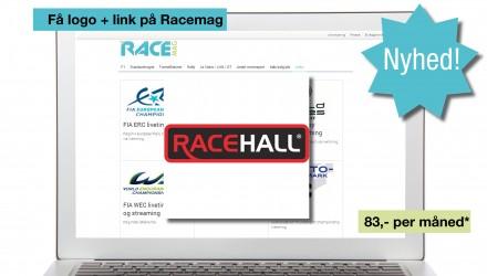 Få logo og link på Racemag for kun DKK 83 om måneden