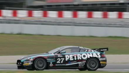 Sidste gang Kim Holmgaard kørte Aston Martinen var i Barcelona