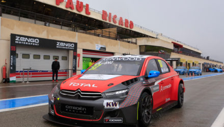 I weekenden køres det første løb på årets WTCC kalender på Paul Richard i Frankrig