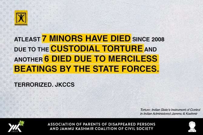 Snippet from Report. Source: JKCCS/APDP