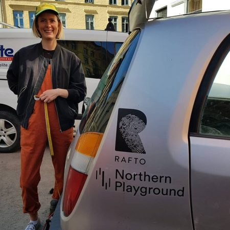 A farmer from the small village Steigen in the North of Norway donated a car - without the wife's permission. Photo: team7steps