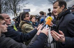 Minister Eric Wiebes naar aardbevingsgebied Groningen
