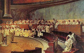 La primera catilinaria