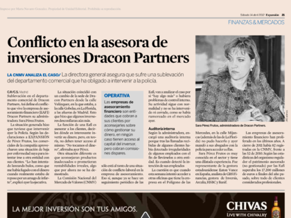 Noticia sobre Dracon Partners