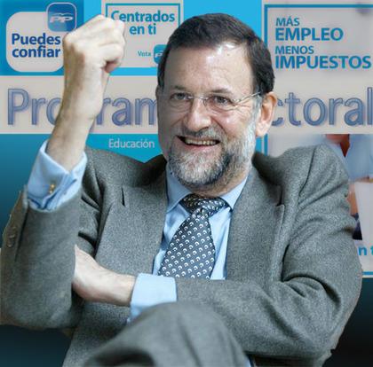 Rajoy dando su opinión