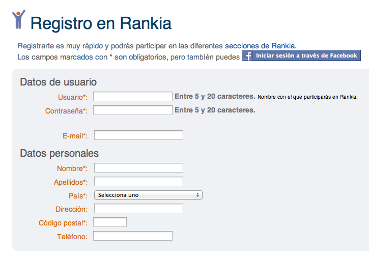 registro en Rankia