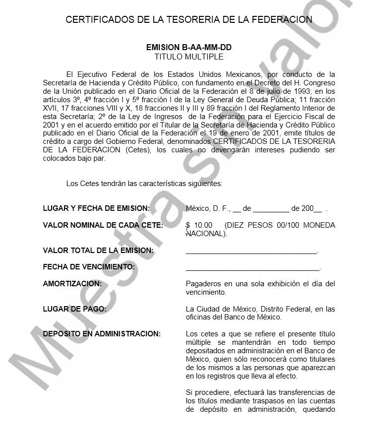 Documento CETEs