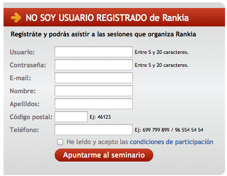 Registro Webinario