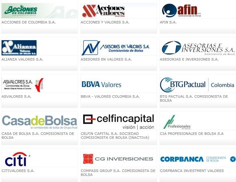 bolsa valores colombia