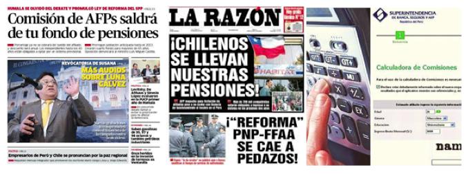 noticias sistema privado de pensiones