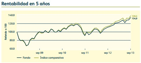 Rentabilidad M&G European Index Tracker Fund