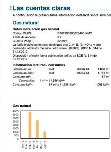 Gas Natural Fenosa Pago