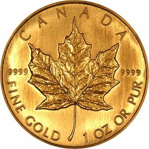moneda oro banco de canadá