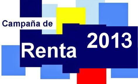 Descarga del programa de ayuda Renta 2013 - Agencia Tributaria