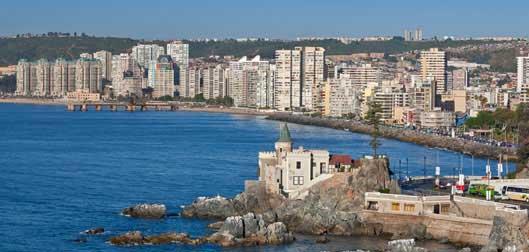 Las mejores ciudades para vivir en Chile: Viña del mar. Chile