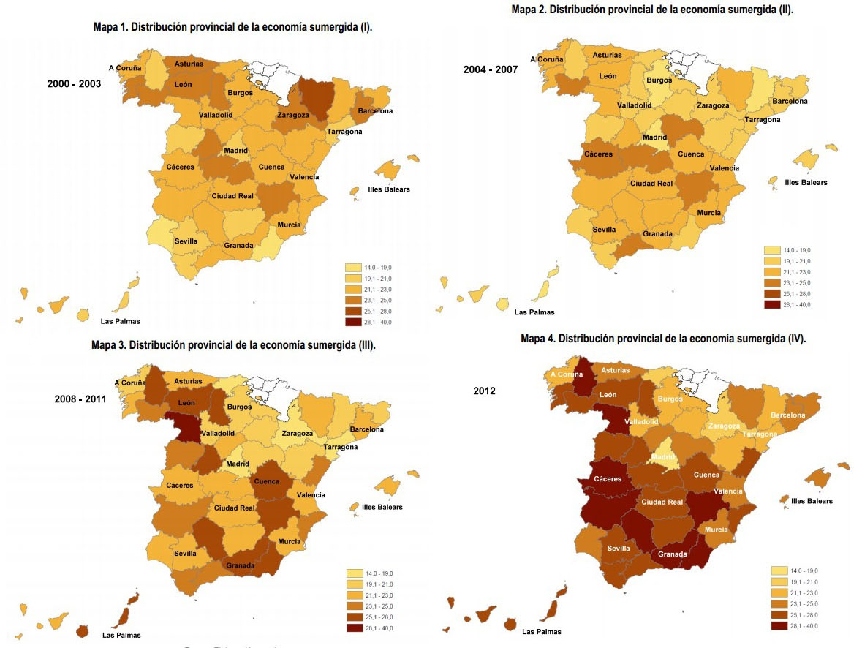 Evolución del fraude fiscal en España