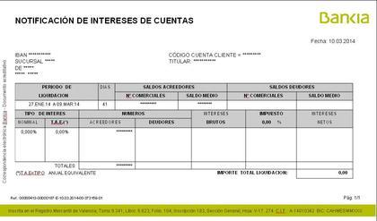 Liquidaci n libreta f cil bankia rankia for Bankia oficina online