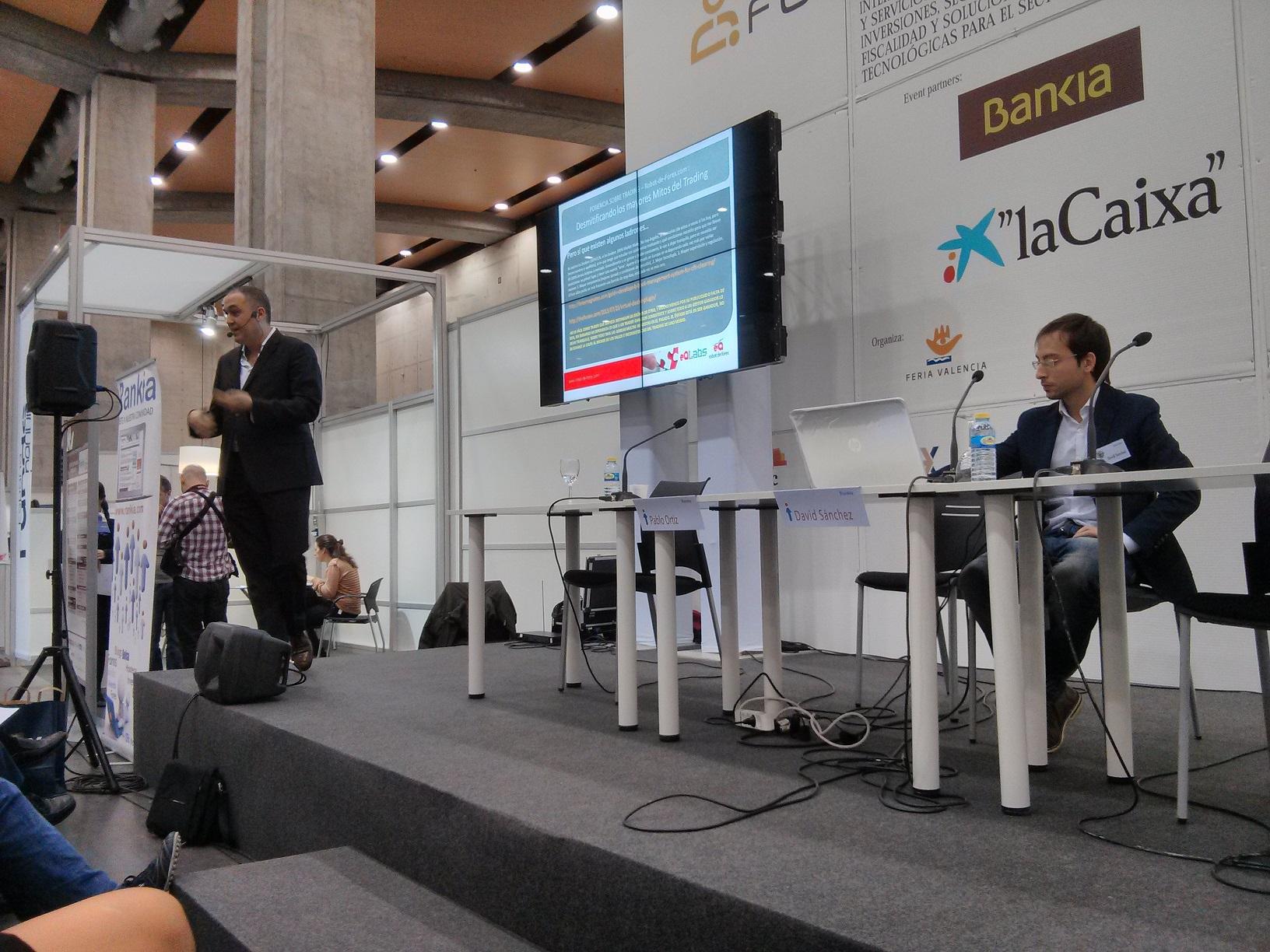 Pablo Ortiz (Robot de Forex) en Forinvest 2014