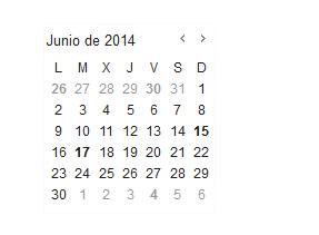 Calendario Fondos de Inversión