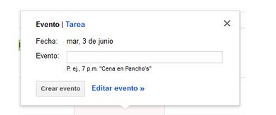 Evento Gmail