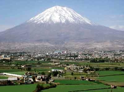 Principales destinos turísticos de Perú: arequipa