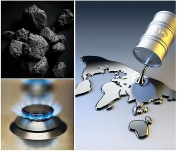 carbon, gas natural, petroleo