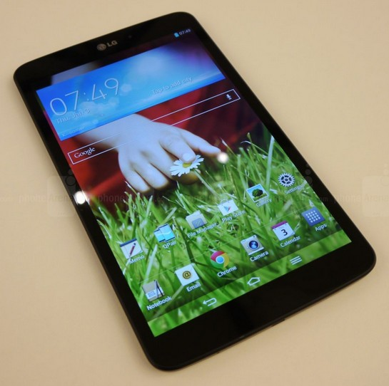 mejor tablet Android: LG G Pad 8.3