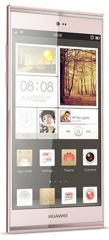Smartphone mas vendido: Huawei Ascend P7