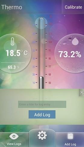 Utilizar android medir temepratura