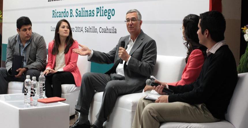 Presidente Grupo Salinas critica ISR