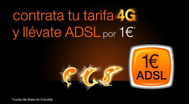 Oferta Orange ADSL 1€