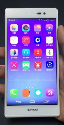 Cuáles son las últimas novedades de smartphones: Huawei ascend p7