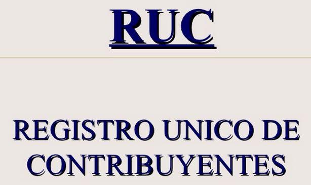 RUC SUNAT