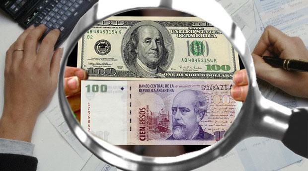 Cotización peso-dolar
